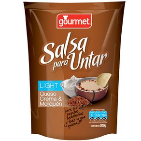 Salsa-untar-queso-crema-merquen-light-Gourmet-200g