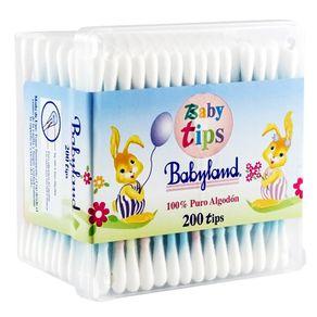 Cotonitos-Babyland-Baby-tips-caja-200-u