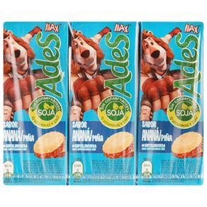 Jugo-Ades-piña-cajita-200-ml-x-6-unidades