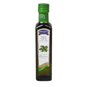 Aceite-Oliva-Banquete-extra-virgen-albahaca-250ml