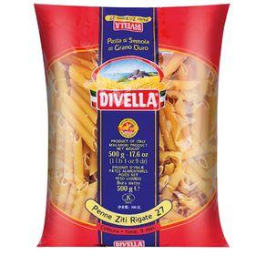 Divella-Penne-ziti-Rigati-Nº27-500-g
