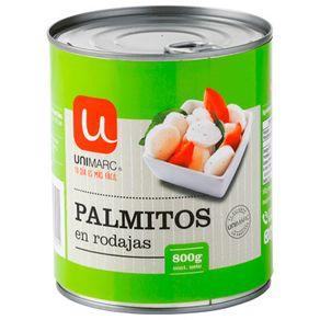 Palmitos-en-rodajas-Unimarc-800-g