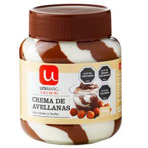 Crema-Avellana-Cacao-Leche-Unimarc-350Gr