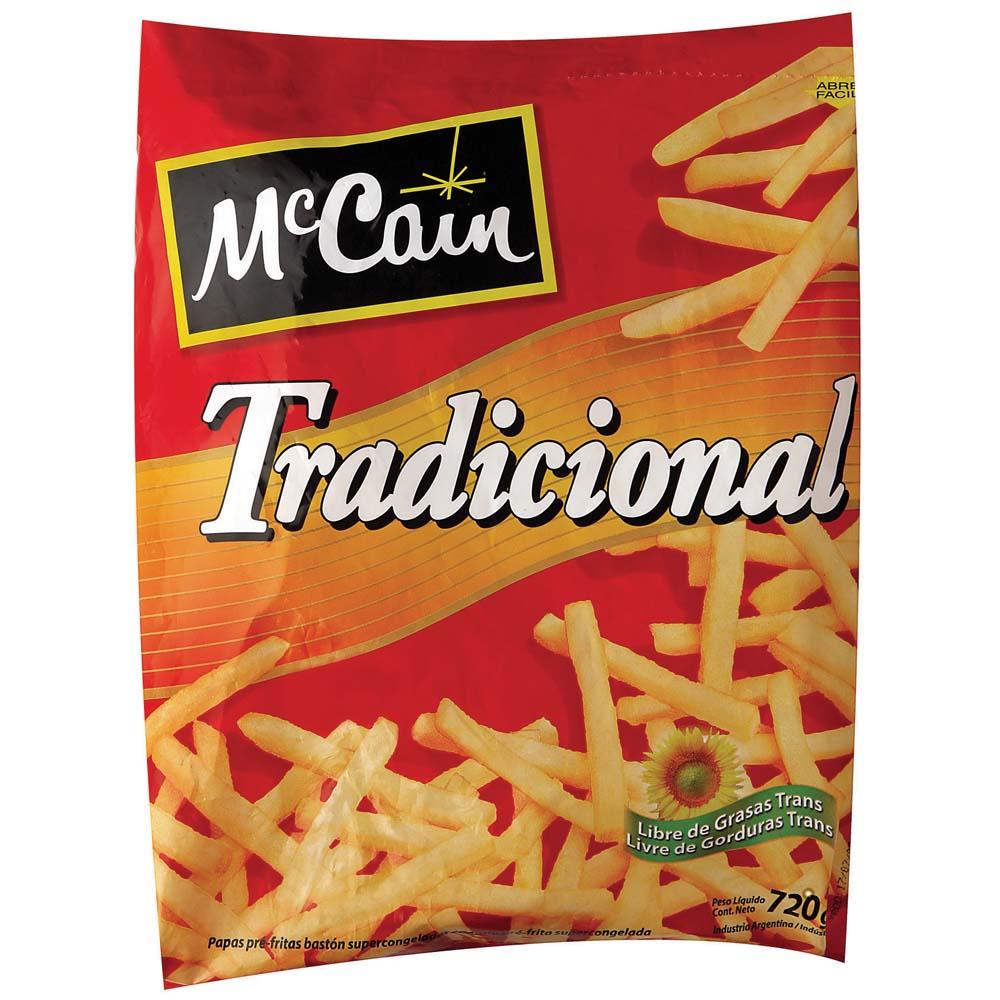 PAPAS PRE FRITAS MCCAIN TRADICIONAL 12 X 1 KG