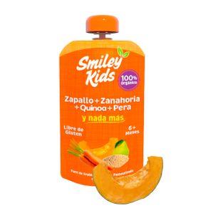 Compota-Smiley-Kids-Zapallo-Zanahoria-y-Quinoa-113-Gr.