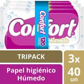 Papel-Higienico-Confort-Humedo-Tripack-3-x-40-Un.