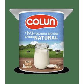 Yoghurt-Colun-natural-125-Gr.