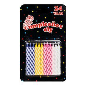 Vela-cumpleaños-chica-rayada-24-u-Ely