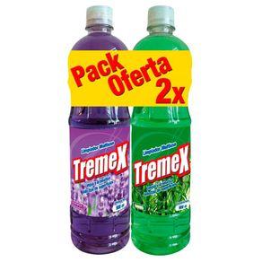 Limpiapisos-Tremex-Pack-Lavanda-Bambu-900-ml