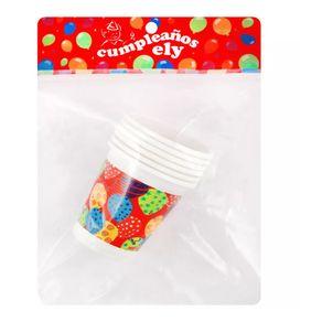 Vaso-plastico-globo-Ely-6-u-200-ml