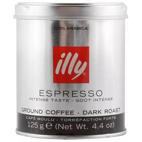 Cafe-Illy-molido-Espresso-Dark-Roast-lata-125g