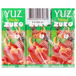 Nectar-Yuz-multifruta-individual-6-u-x-200-ml