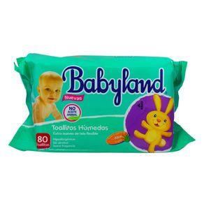 Toallitas-humedas-Babyland-aloe-vera-80-u