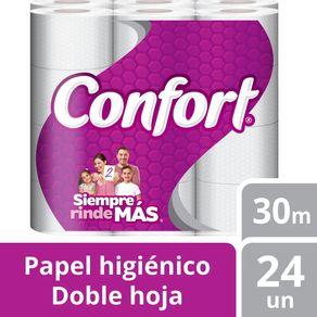 Papel-Higienico-Confort-Doble-Hoja-Mega-24-U--30-M-