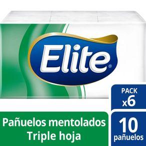 Pañuelos-Elite-mentolado-bolsa-6-u
