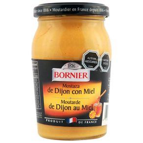 Mostaza-Bornier-con-miel-frasco-235-g
