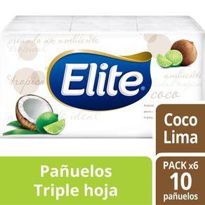 Pañuelos-Desechables-compacto-aroma-pack-6-u.-ELITE