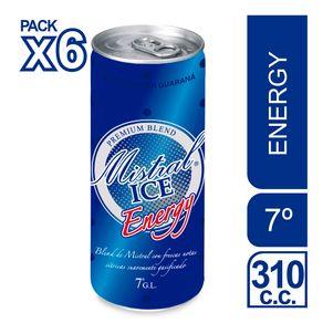 Pack-coctel-Mistral-Ice-energy-lata-6-unidades-de-310-cc
