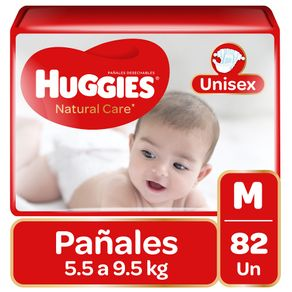 Pañal-Huggies-natural-care-unisex-M-82-un