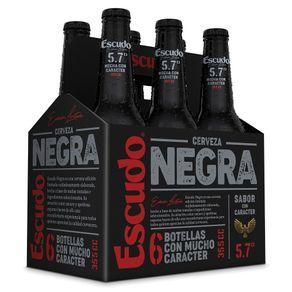 Pack-Cerveza-Escudo-negra-botella-6-un-de-355-cc