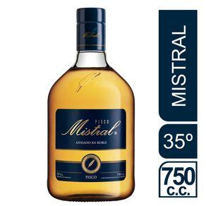 Pisco-Mistral-35°-botella-750-cc