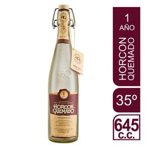 Pisco-Horcon-Quemado-35°-añejado-botella-645-cc