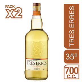 Pack-Pisco-Tres-Erres-especial-35°-botella-2-un-de-700-cc