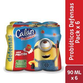 Pack-Minishot-probiotico-Calan-frutilla-6-un-de-90-ml
