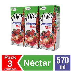 Pack-nectar-Vivo-plus-berries-3-un-de-190-ml