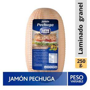 Jamon-pechuga-de-pollo-cocida-Super-Pollo-granel-250-g