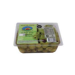 Aceitunas-verdes-Valle-del-Norte-descarozadas-bandeja-350-g
