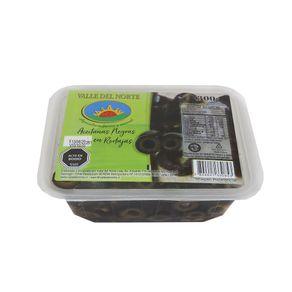 Aceitunas-negras-Valle-del-Norte-en-rodajas-bandeja-300-g
