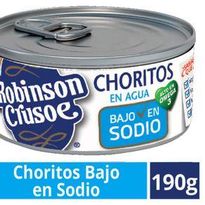 Choritos-Robinson-Crusoe-en-agua-bajo-en-sodio-190-g
