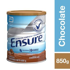 Alimento-Ensure-chocolate-lata-850-g