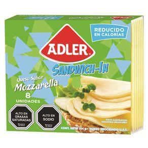Queso-mozzarella-Adler-light-laminado-144-g