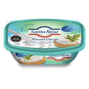 Queso-crema-Santa-Rosa-cheese-light-150-g