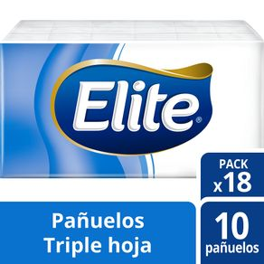 Pañuelos-Elite-triple-hoja-bolsa-18-un