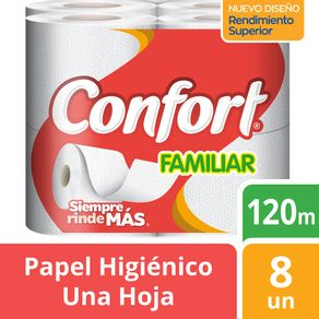 Papel-higienico-Confort-familiar-una-hoja-8-un--120-m-