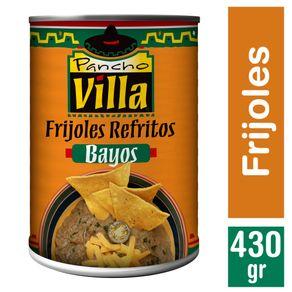 Frijoles-refritos-bayos-Pancho-Villa-lata-430-g