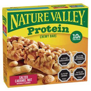 Pack-barra-cereal-Nature-Valley-protein-caramel-nut-6-un-de-40-g
