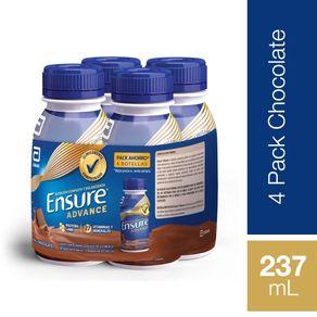 Pack-alimento-Ensure-advance-chocolate-4-un-de-237-ml-