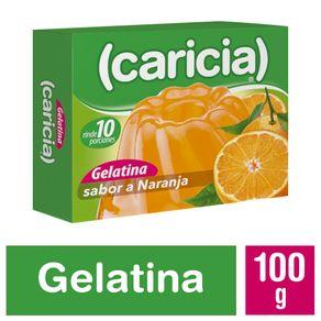 Gelatina-Caricia-naranja-100-g