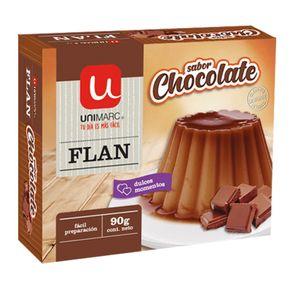 Flan-Unimarc-chocolate-90-g