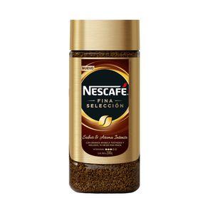 Cafe-instantaneo-liofilizado-Nescafe-fina-seleccion-frasco-200-g