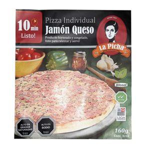 Pizza-individual-La-Picha-jamon-queso-caja-160-g
