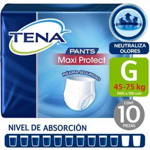 Pants-Tena-maxi-protect-talla-G-10-un