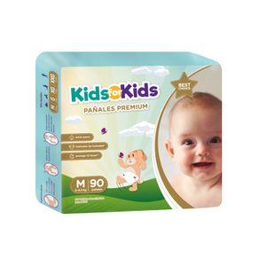 Pañal-desechable-Kids-for-Kids-talla-M-90-un