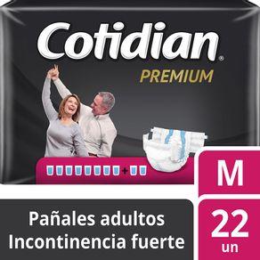 Pañal-adulto-Cotidian-premium-M-22-un