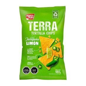 Tortilla-chips-Marco-Polo-jalapeño-limon-180-g