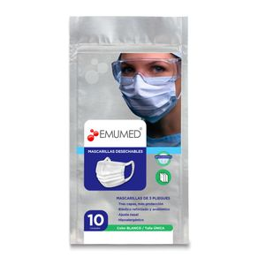 Mascarillas-Emumed-desechables-3-pliegues-10-un